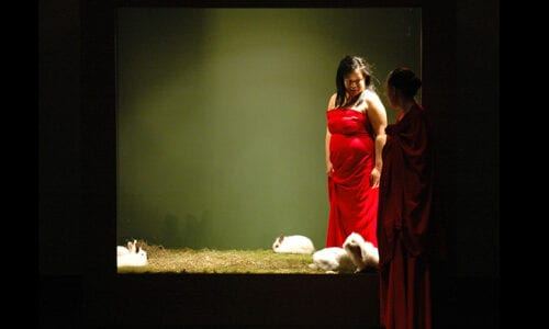 LILITH PERFORMANCE STUDIO at the International Performance festival IN TRANSIT 2009 in Berlin